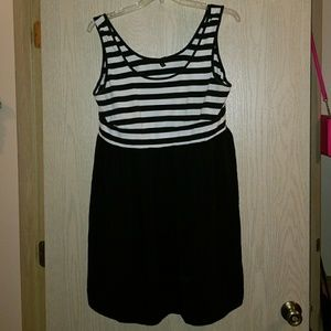Black and white sundress